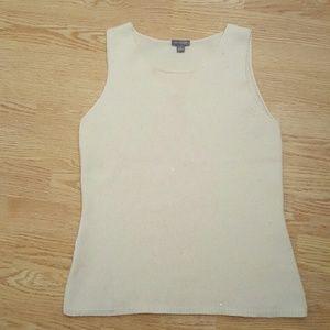 Ann Taylor 100% Cashmere Vest